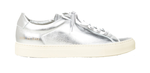 Common Projects Achilles Retro Low Sneakers in Silver Shoes