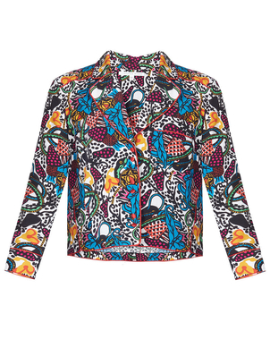 Veronica Beard Penelope Blouse Print Tops