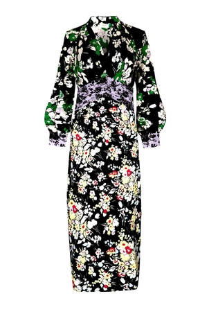 RIXO Fedora Dress - 30s Bunch Floral Dresses