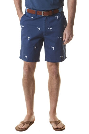 Castaway Clothing Cisco Short Atlantic with Palmetto Moon