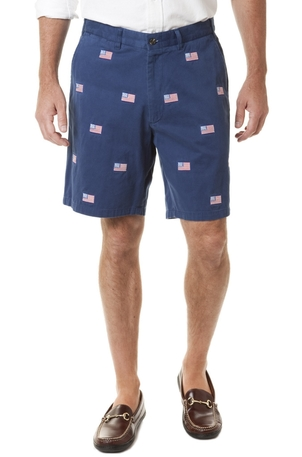 Castaway Clothing Cisco Short Atlantic with American Flag
