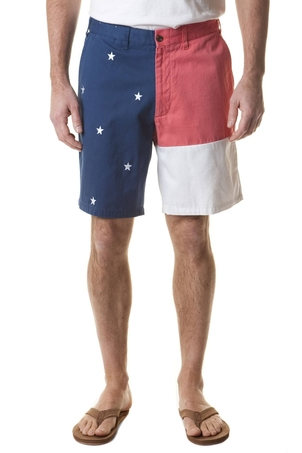 Castaway Clothing Cisco Short Flag Panel with Stars