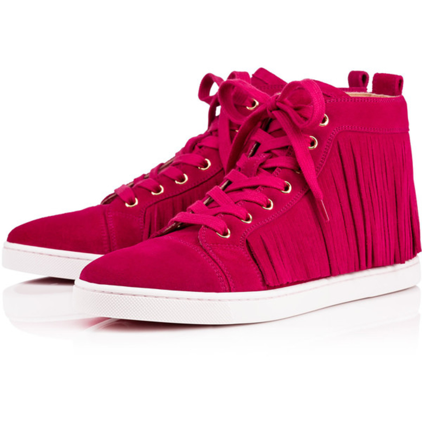 Christian Louboutin Frangine Sneaker Crosta Rosa Sale Shoes