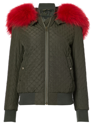 Mr. & Mrs. Italy London Green Bomber Outerwear
