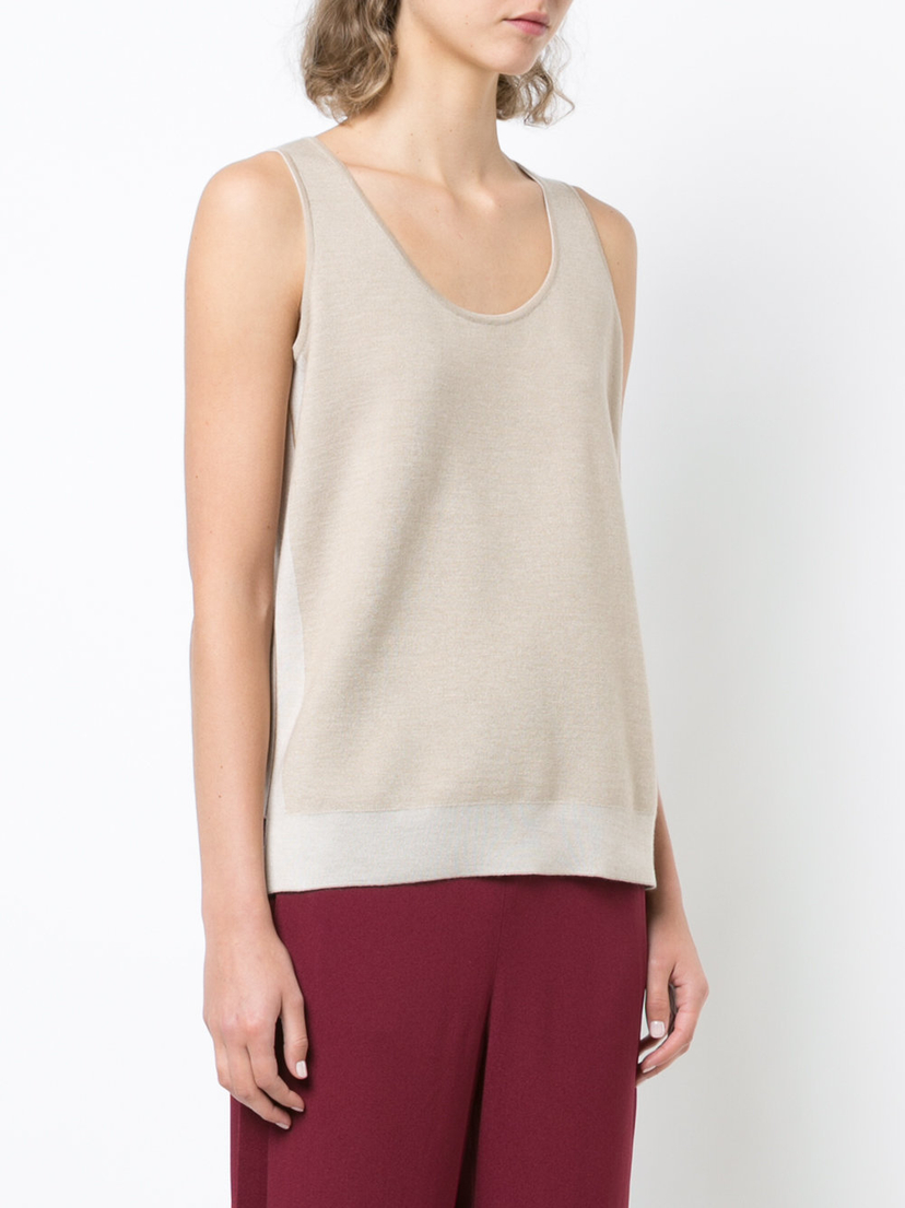 Maison Ullens Travel Knit Top Tops