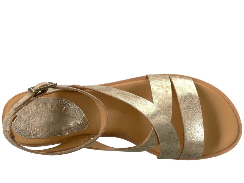 Kork Ease Marianna Sandal Gold Metallic Shoes