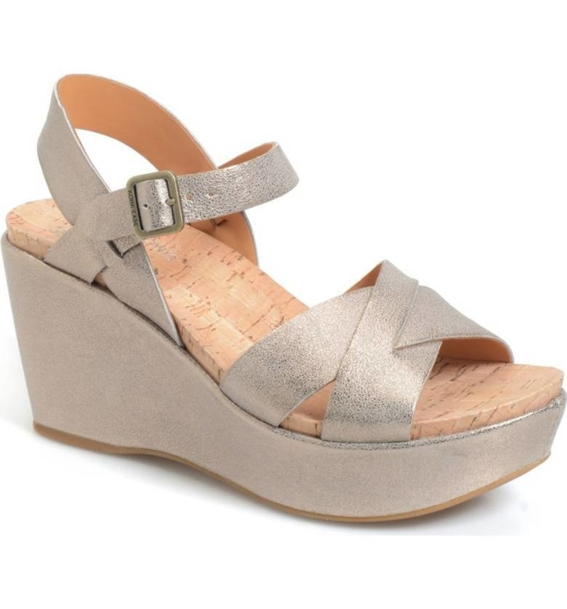 Kork Ease Ava 2.0 Wedge Gold Shoes