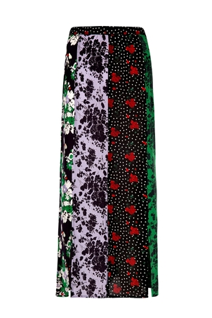 RIXO Steph Skirt - Abstract Floral Skirts