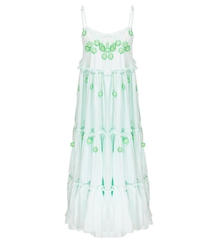 My Beachy Side Love Child Maxi Dress Green Dresses