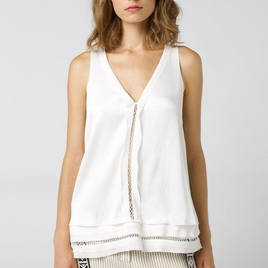 Fascinating structure blouse