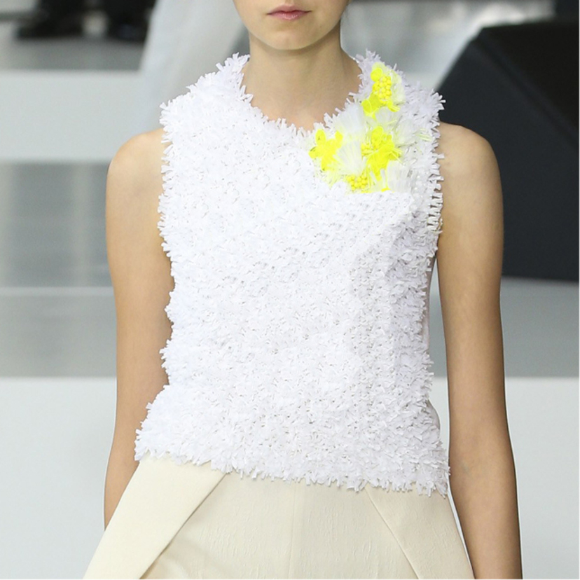 Delpozo Embroidered Knit Tops