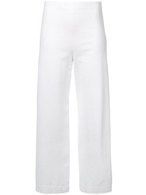 Rosetta Getty Wide Leg Cropped Trousers Pants