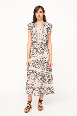 Sea Rosalie Printed Maxi Dress Dresses