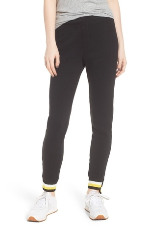 Pam & Gela Step Hem Sweatpant Pants