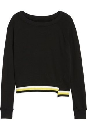 Pam & Gela Step Hem Sweatshirt Tops