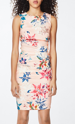 Nicole Miller Lauren Dress - Amazonian Mist Dresses