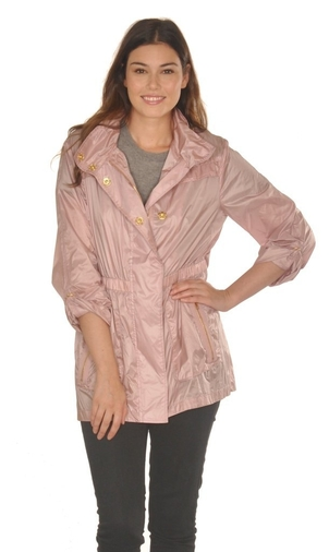 Ciao Milano Karla Jacket in Rose Gold Outerwear