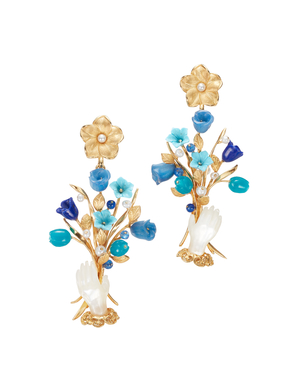 Of Rare Origin Exclusive Earring in Blue Jewelry