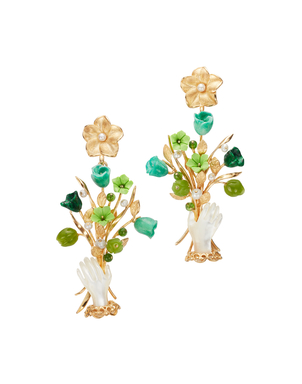 Of Rare Origin Exclusive Earring in Green Jewelry