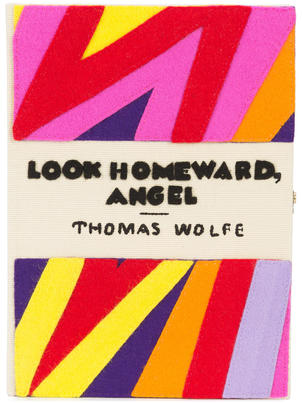 "Olympia Le-Tan Exclusive ""Look Homeward, Angel"" Book Clutch Bags"
