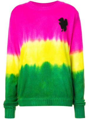 The Elder Statesman Exclusive Tie-Dye Knit Sweater