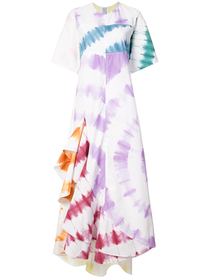 Rosie Assoulin Exclusive Tie-Dye Effect Dress Dresses