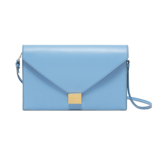 Victoria Beckham Cloud Blue Envelope Clutch Accessories Bags