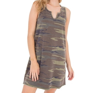 Z Supply Camo Tank Dress Dresses