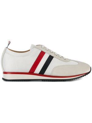 Thom Browne STRIPE RUNNING SHOE Men's