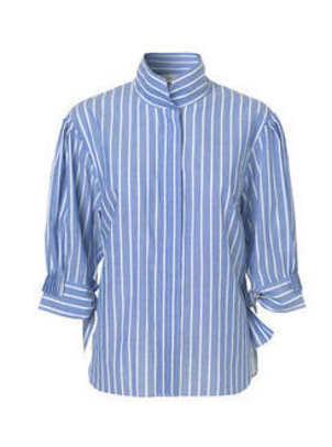 By Malene Birger Brigonia Shirt Hyper Blue Tops
