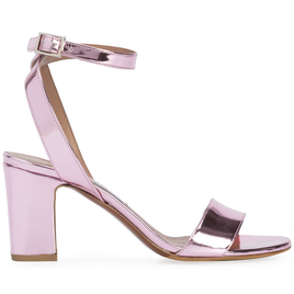 Exclusive Pink Metallic Heels