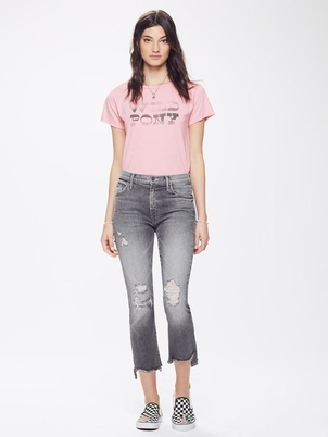 Mother Insider Crop Step Jean Pants