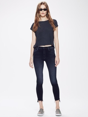Mother The Stunner Zip Two Step Pants