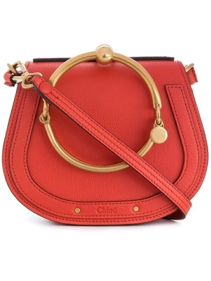 Chloé CHLOE SEPIA RED SHOULDER BAG Bags
