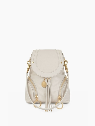 See by Chloé Small Olga Backpack - Cement Beige Bags