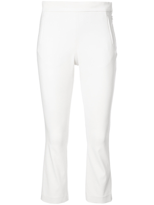 Rosetta Getty Cropped Vent Back Trousers Pants