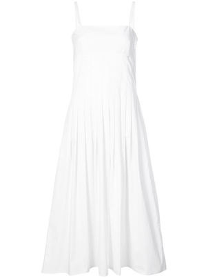 Rosetta Getty Pleated Camisole Dress Dresses