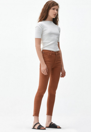Citizens of Humanity Rocket Crop High Rise Skinny Pants