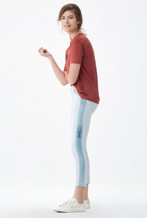 Citizens of Humanity Rocket Crop High Rise Skinny in Cherish Pants