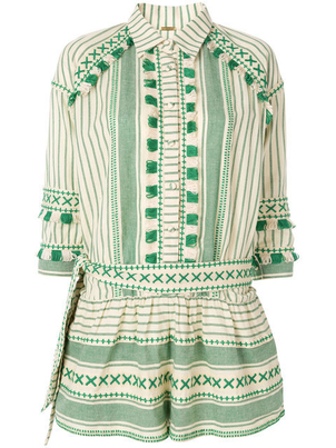 Dodo Bar Or Augustine Romper - Green Jumpsuits / Rompers