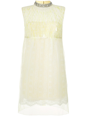 Marc Jacobs Sleeveless Lace Mock Neck Dress (Originally $1,800) Dresses Sale