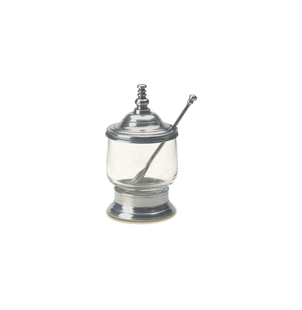 MATCH Pewter Condiment Jar with Spoon Gifts