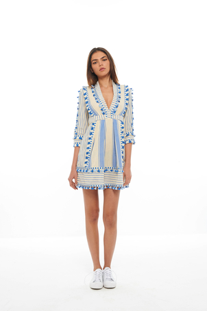 Dodo Bar Or Blue Skyler Dress (Was $393) Dresses Sale