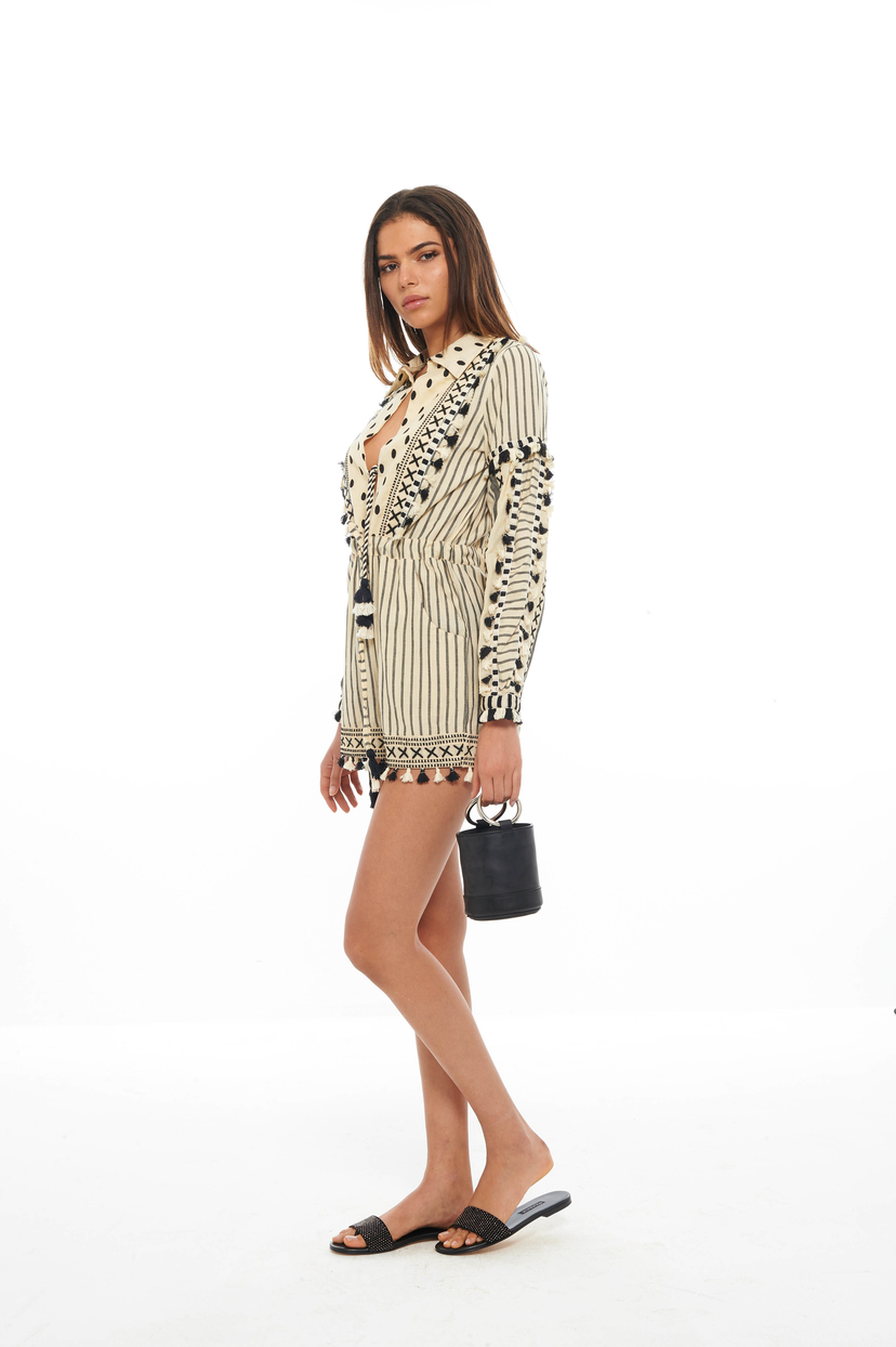 Dodo Bar Or Black Vala Romper (Was $423) Dresses Sale