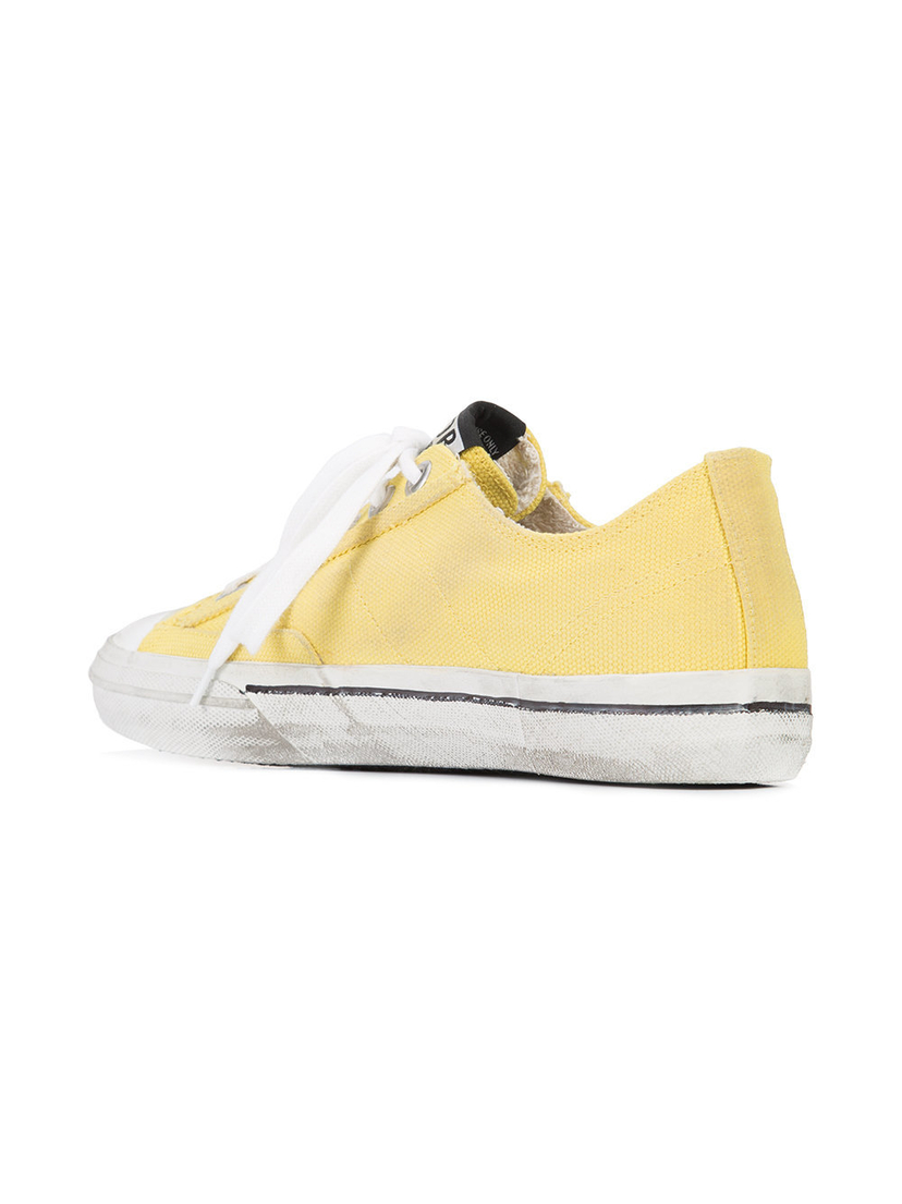 Golden Goose Deluxe Brand V Star 2 - Yellow Shoes