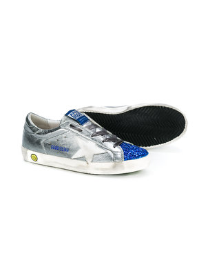 Golden Goose Deluxe Brand Superstar Sneaker - Steel/Blue Shoes