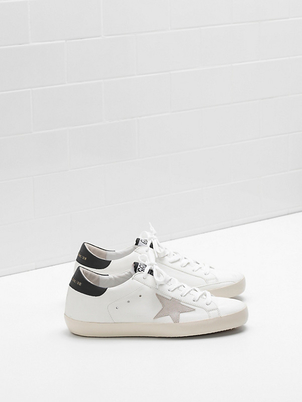 Golden Goose Deluxe Brand Superstar Sneaker - White/Mountain Gray Shoes