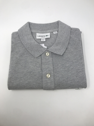 Lacoste Lacoste Slim Fit in Gray Tops