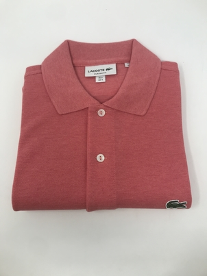 Lacoste Classic Fit Polo in Nantucket Red Tops