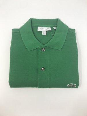Lacoste Classic Fit Polo in Green Tops